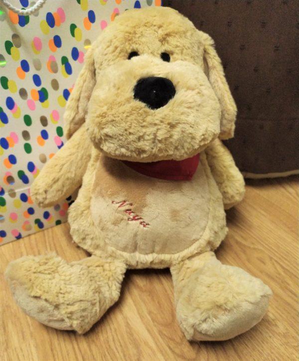 range pyjama chien personnalisé