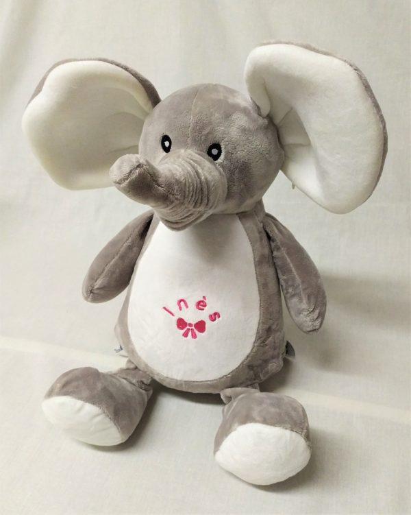 doudoudou éléphant personnalisé