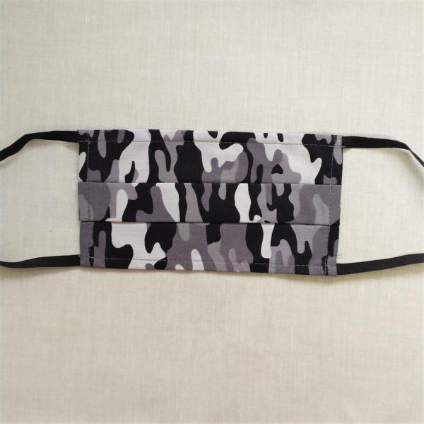 masque camouflage gris