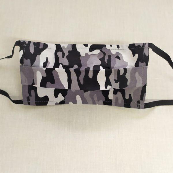 masque coton imprimé camouflage