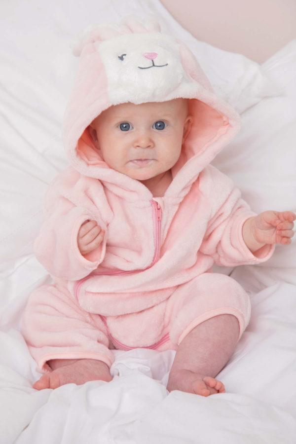 pyjama enfant lapin rose