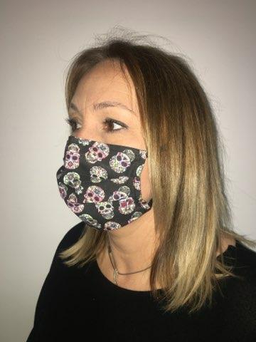 masque tetes de mort mexicaines