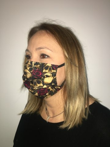 masque protection tetes de mort