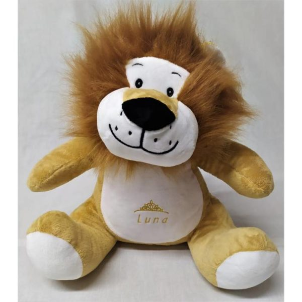 peluche lion personnalisée
