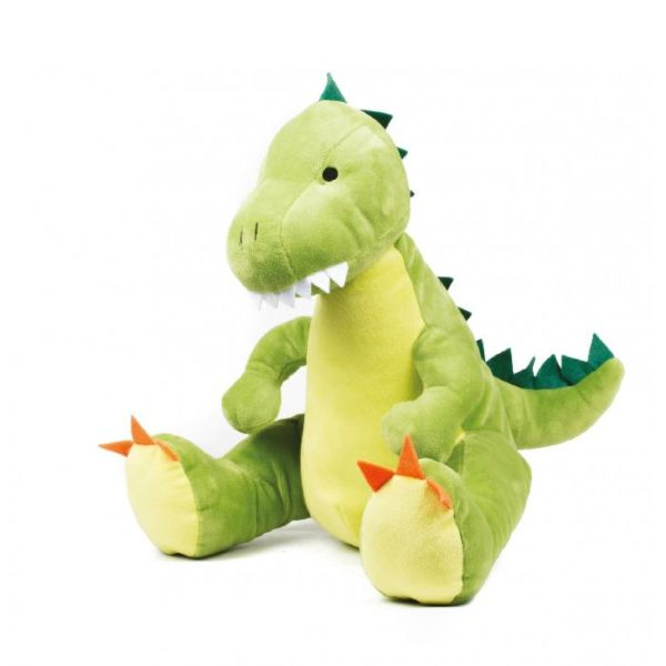 peluche dinosaure brodée